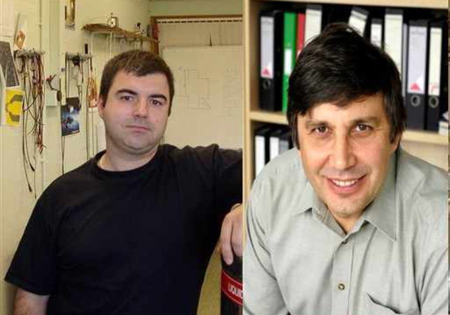 Andre Geim and Konstantin Novoselov