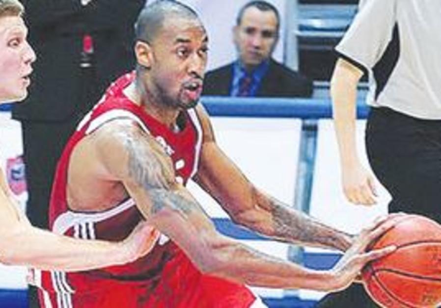 HAPOEL JERUSALEM guard Will Solomon scored 13 poin