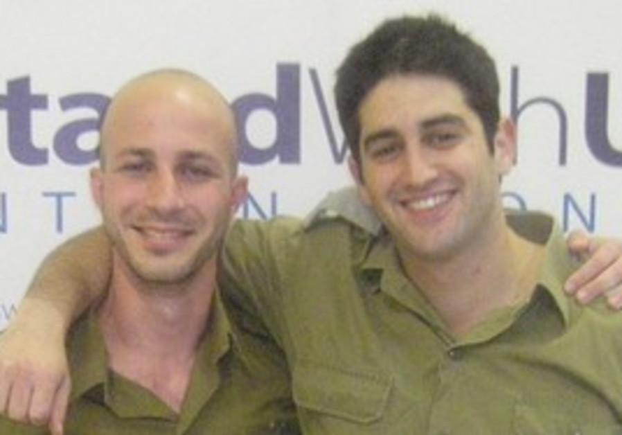 Inon Tagner (left) and Lior Prosor.
