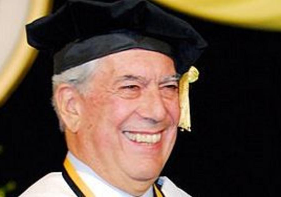 Nobel winner Mario Vargas Llosa