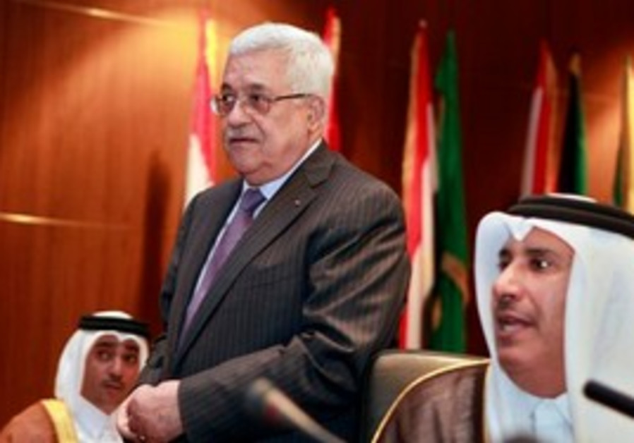 Abbas with Arab foreign ministers