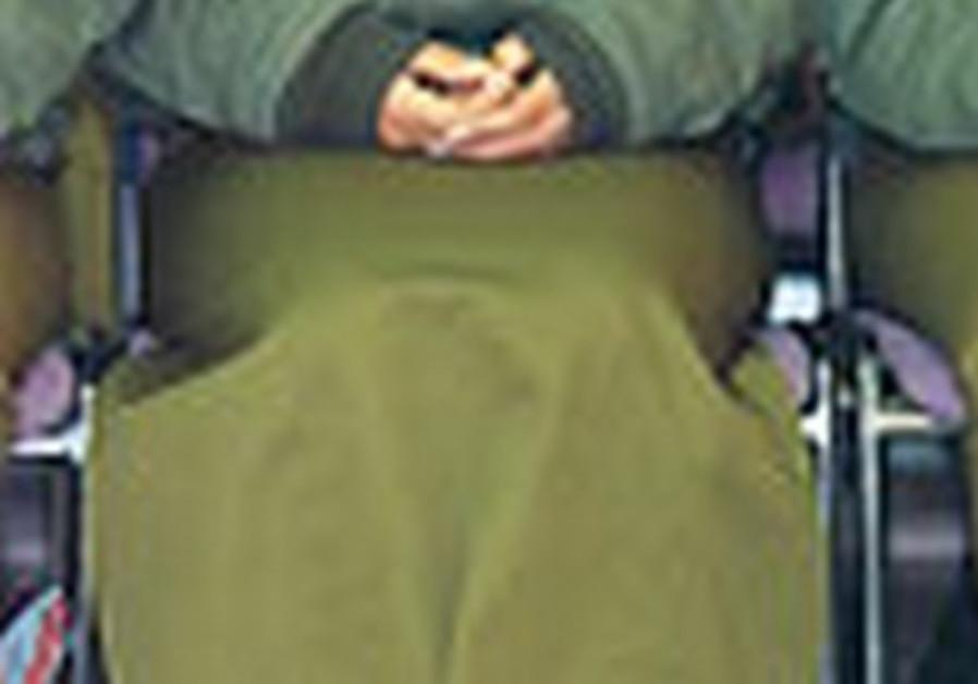 Female soldier [Illustrative].
