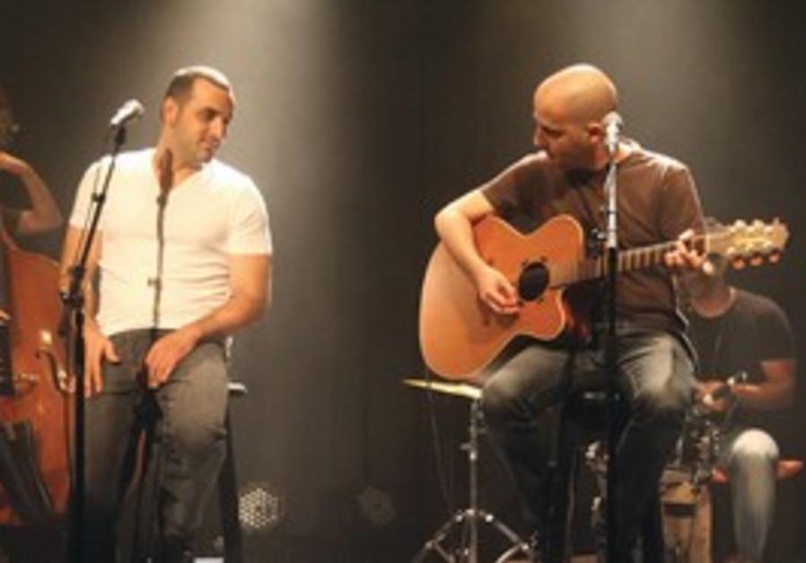 ELAI BOTNER on guitar with Koby Aflalo