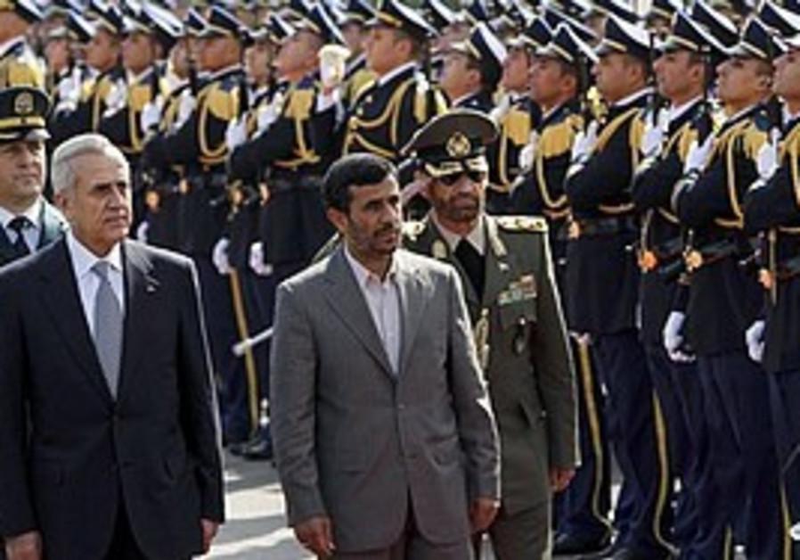 Ahmadinejad in Beirut, Wednesday