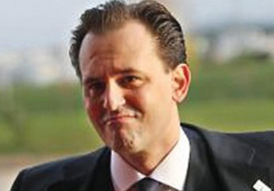 Greek Foreign Minister Dimitris Droustas