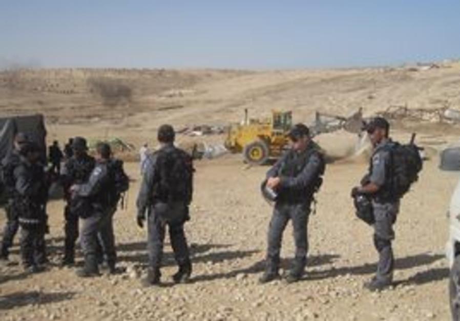 Border Police preparing for Al Arakib demolition