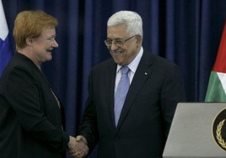 Abbas and Tarja Halonen