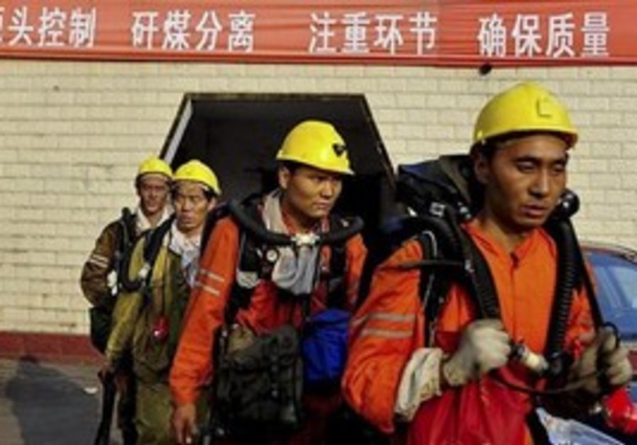Chinese mine rescuers