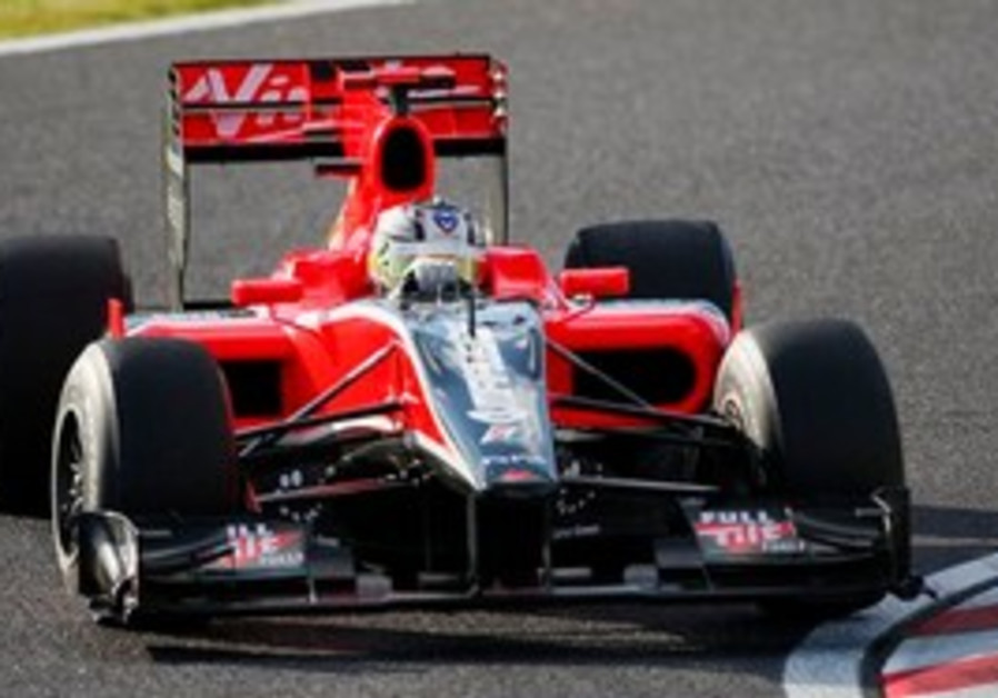 Virgin Formula One driver Timo Glock of Germany
