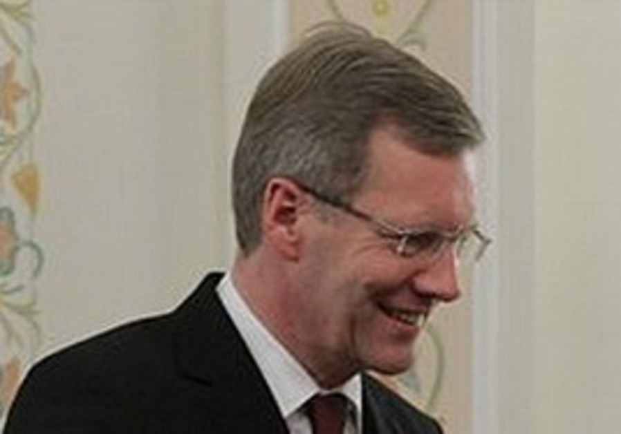 German President Christian Wulff