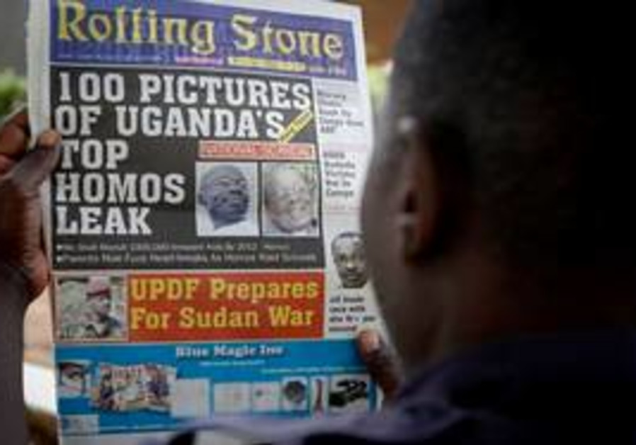 "Ugandan newspaper publishes ""gay-list"""