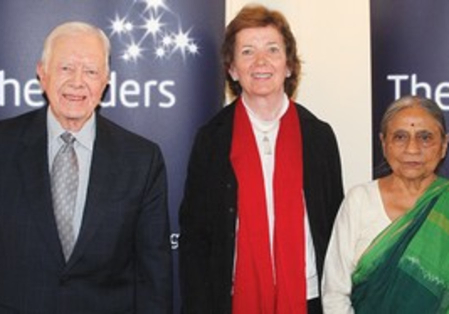 Jimmy Carter, Mary Robinson, Ela Bhatt