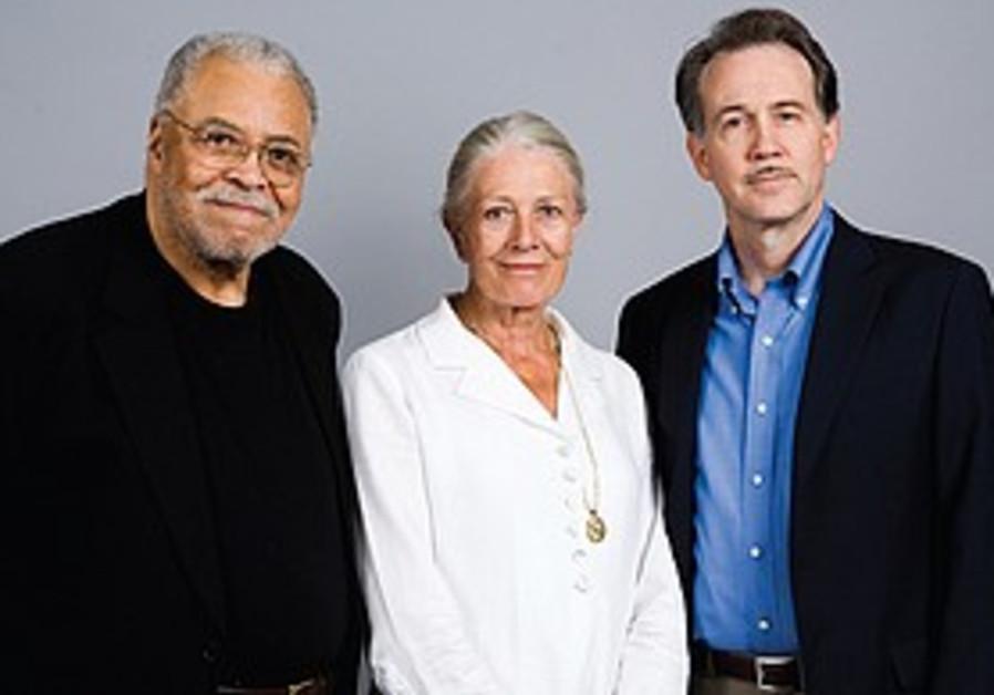 James Earl Jones, Vanessa Redgrave and Boyd Gaines