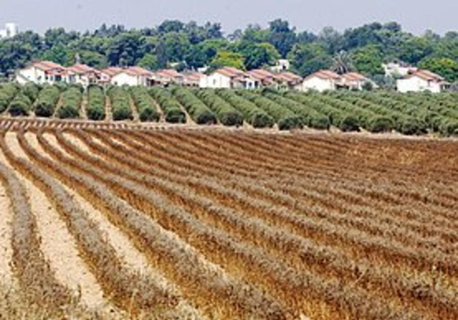 A view of Kibbutz Be'eri.