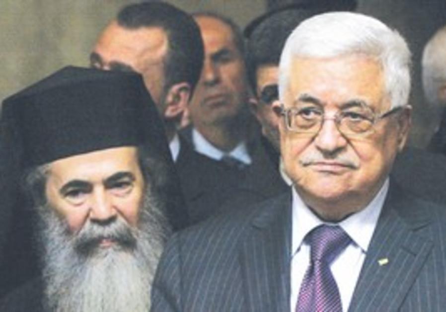 Mahmoud Abbas Greek Orthodox Patriarch of Jerusale