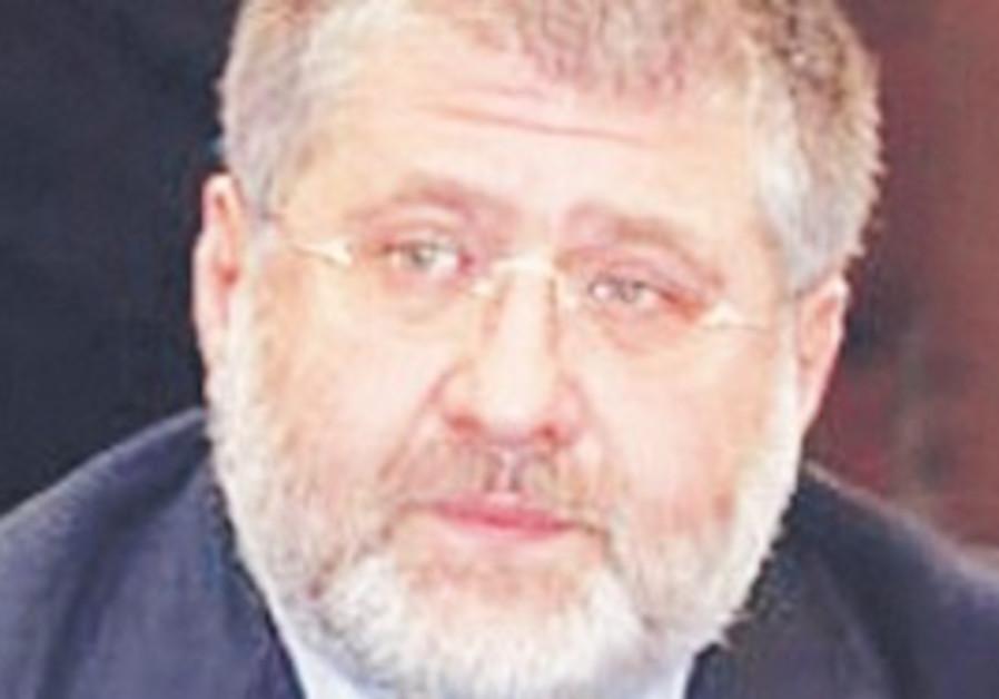 Ukrainian-Israeli billionarie Igor Kolomoisky.