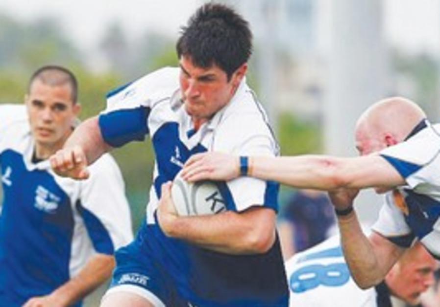 Israeli rugby.