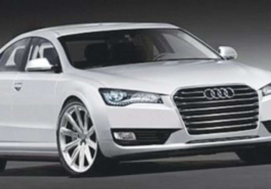 The Audi A8 Security, the prime minister's new car