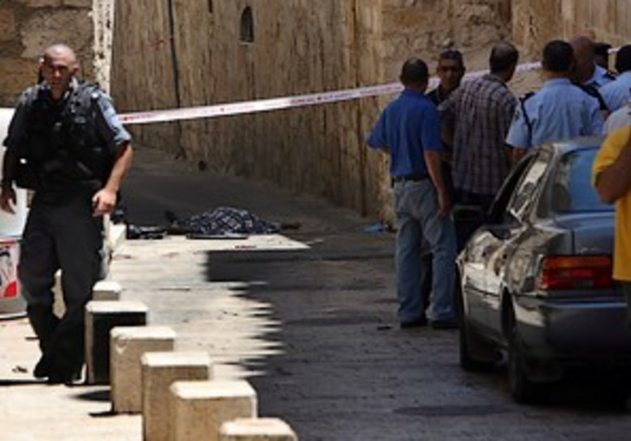 Arab attacker killed in J'lem Old City