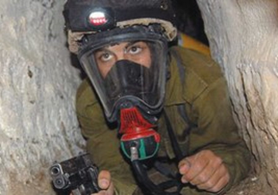 The IDF's new underground breathing mechanism.