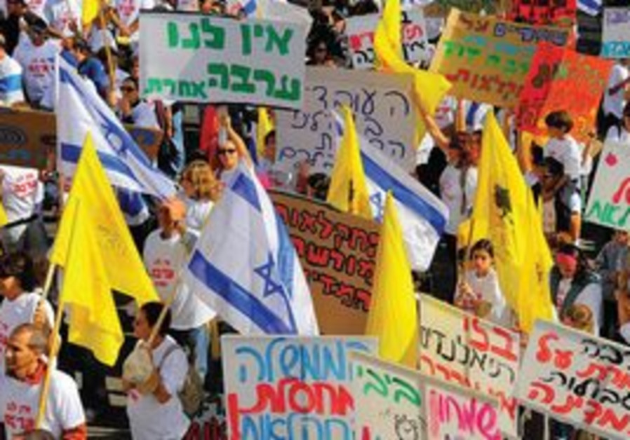 Arava farmers demonstrate for foreign workers