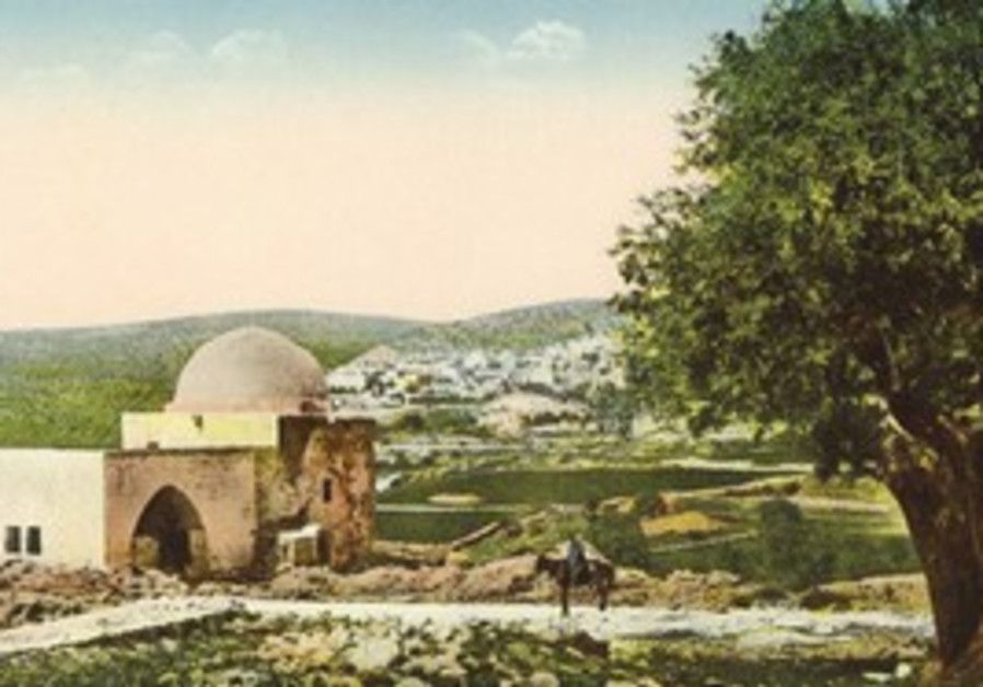 postcard showing Rachel's Tomb