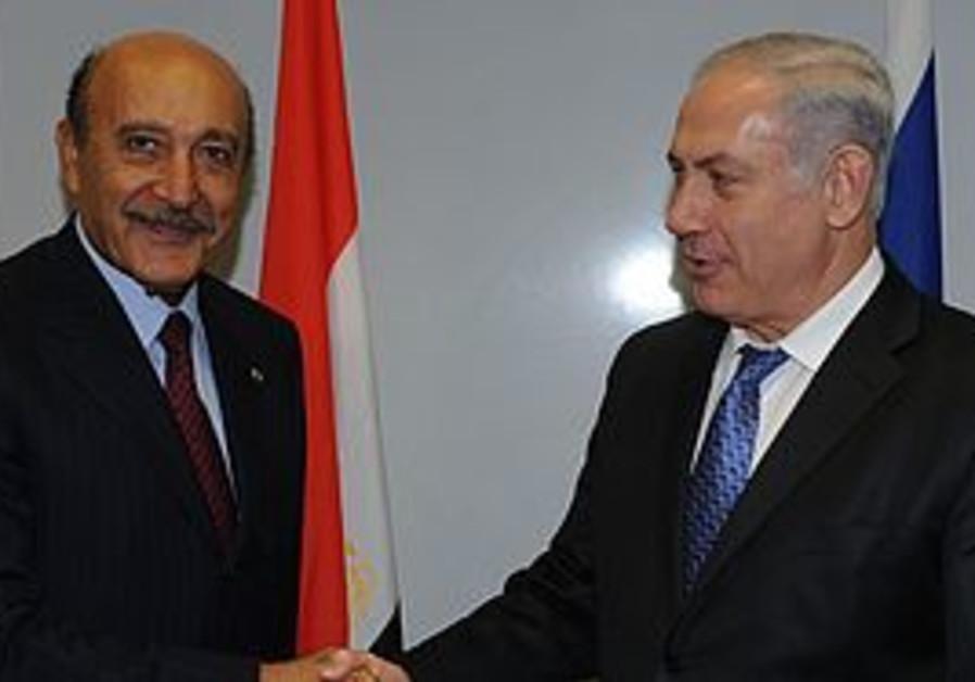Omar Suleiman and Binyamin Netanyahu