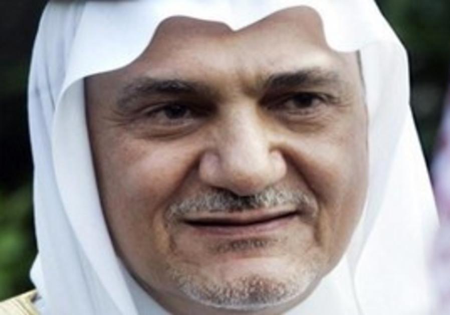 Saudi Prince Turki al-Faisal