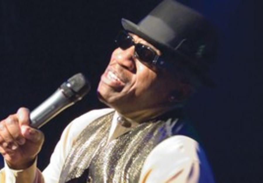 Blues musician John Lee Hooker Jr.