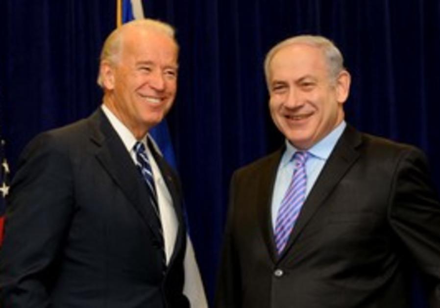 Netanyahu meets Biden