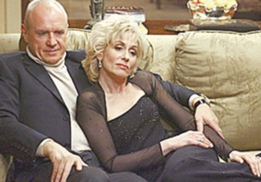 Aussie Alan Dale with Judith Light on 'Ugly Betty'