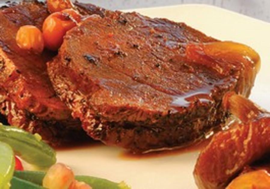 A succulent kosher steak at Artmeat in Ramat Gan