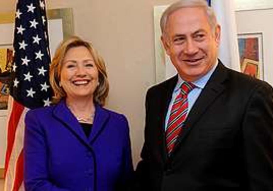 Netanyahu, Clinton meet in New York