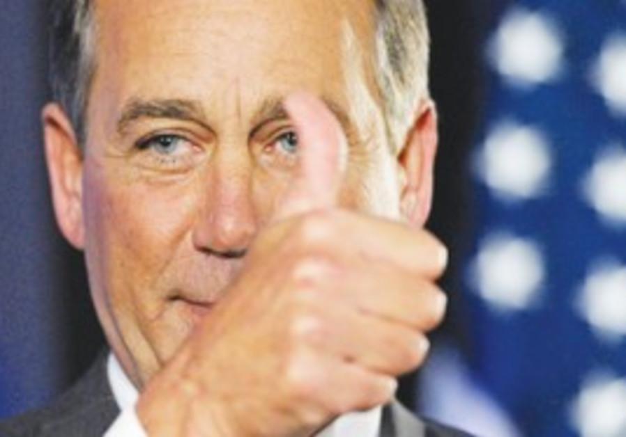 HOUSE REPUBLICAN leader John Boehner. Democrats sa