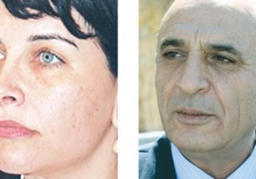 Einat Wilf and Shaul Mofaz