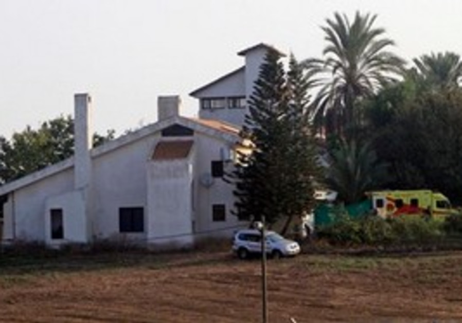Ariel Sharon's home Sycamore Farm in the Negev.