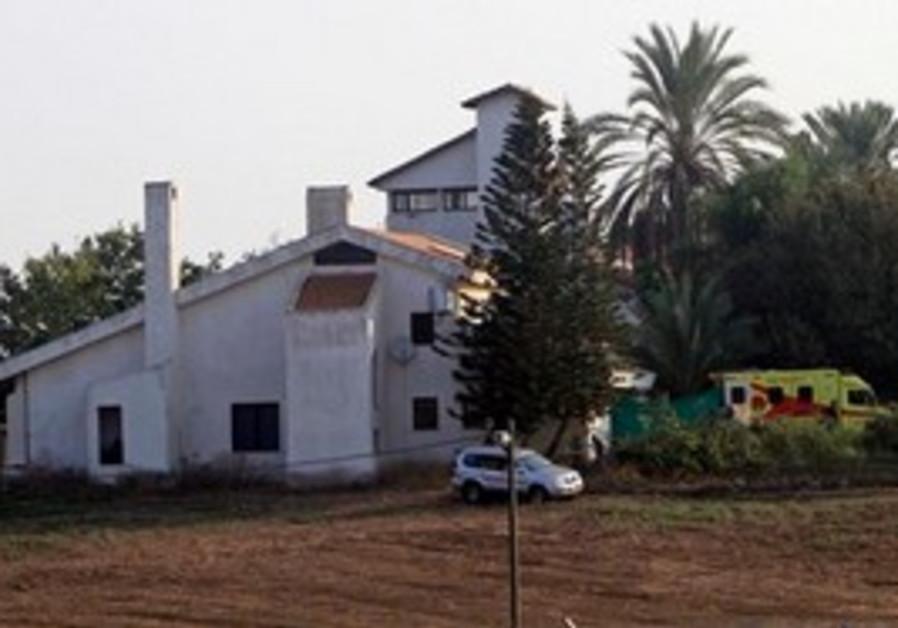 Ariel Sharon's home Sycamore Farm in the Negev.