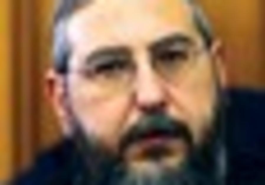 Shas MK Haim Amsalem