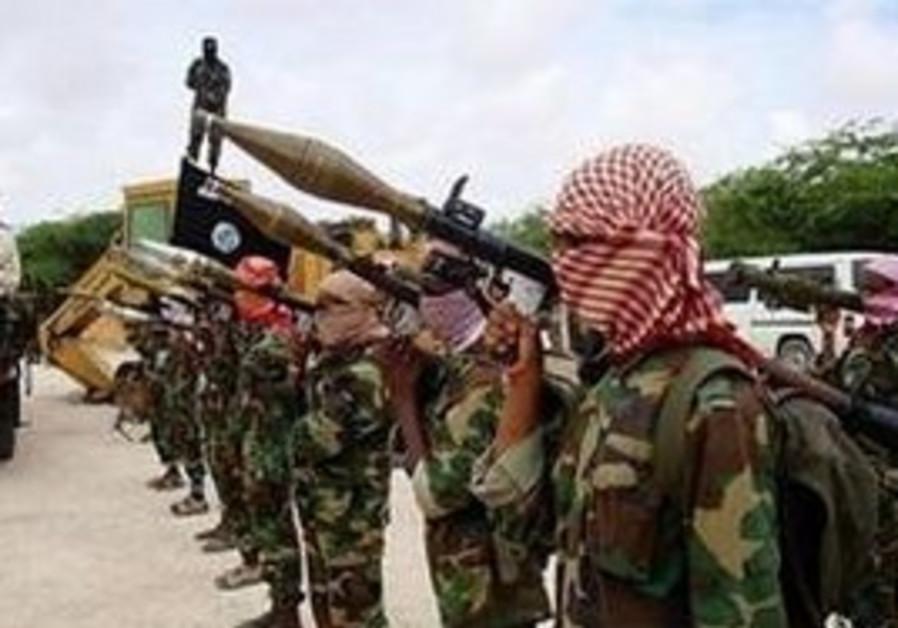 Al Shabab terrorists in Somalia