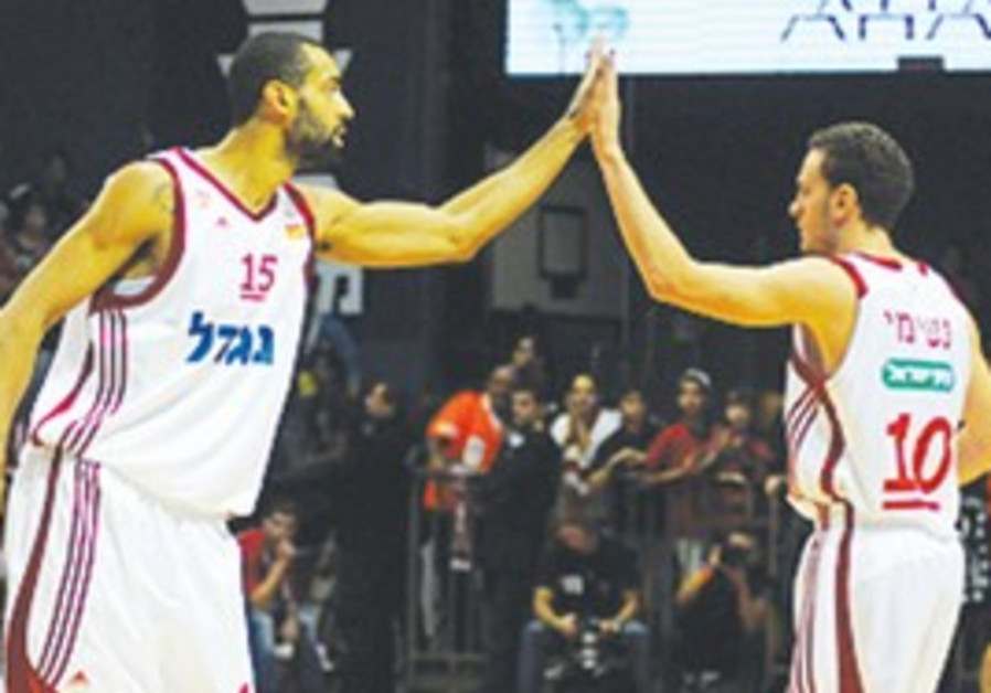 BRIAN RANDLE (left, with Yuval Naimi)