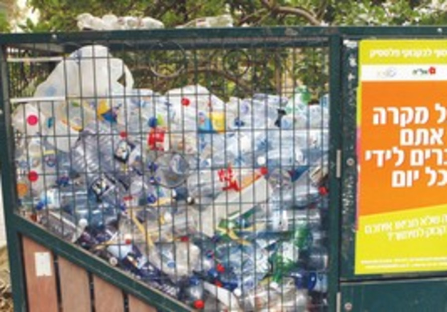 RECYCLING PLASTIC bottles, such as these, costs th