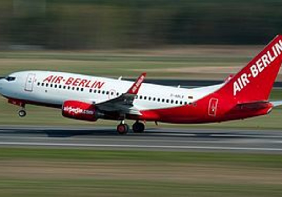 An Air Berlin plane