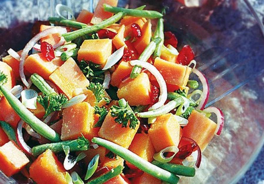 A fall salad