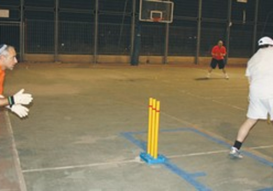 Israel's new Action Cricket league.