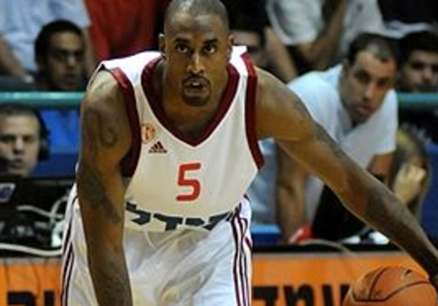 Hapoel Jerusalem guard Will Solomon
