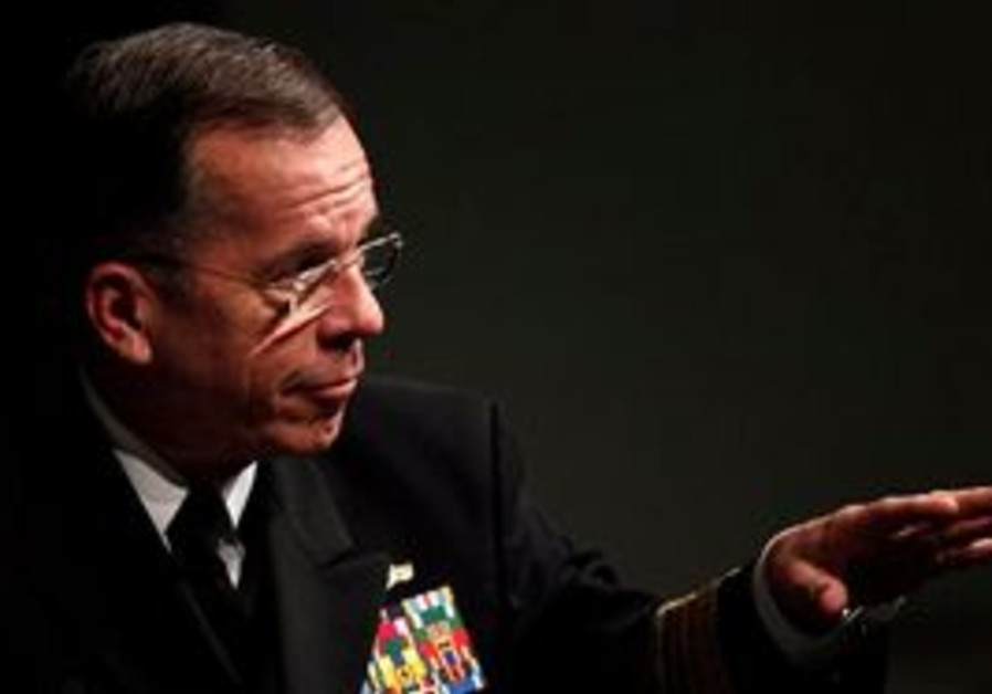 US Chairman of Joint Chiefs Adm. Mike Mullen