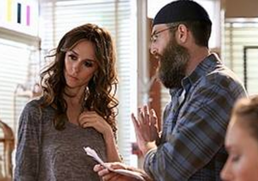 Filmmaker Mark Erlbaum with Jennifer Love Hewitt