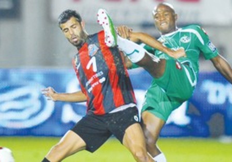 THE BATTLE for Haifa ended without a victor, as ne