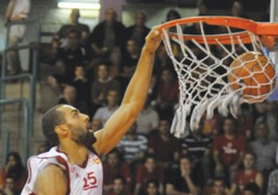 HAPOEL JERUSALEM forward Brian Randle has played w