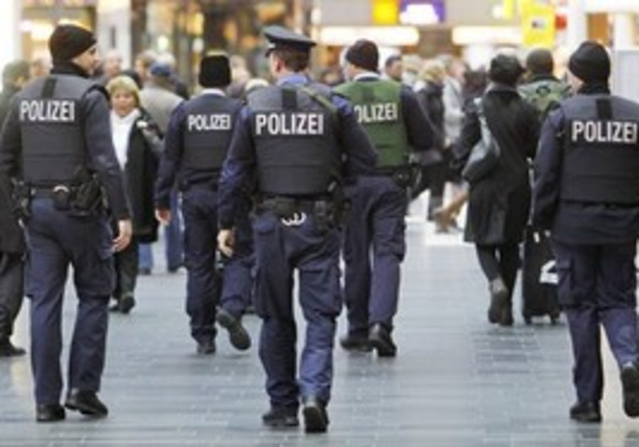 German police [illustrative]